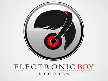 1. Logo Design for 'Electronic Boys'