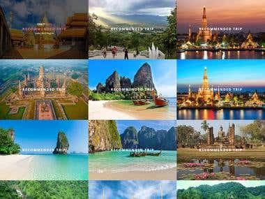 Thailand Tour Website