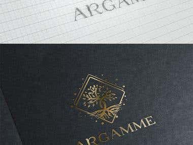 Logo design presentation - Argamme