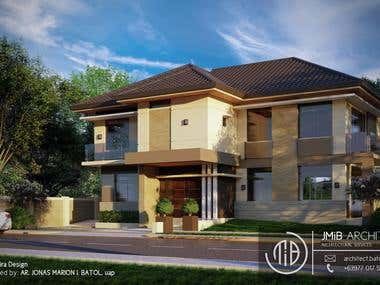 A Proposed 2-Storey 3-Bedroom Residential Building