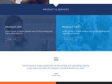 PSD To HTML5 & CSS3 Convert