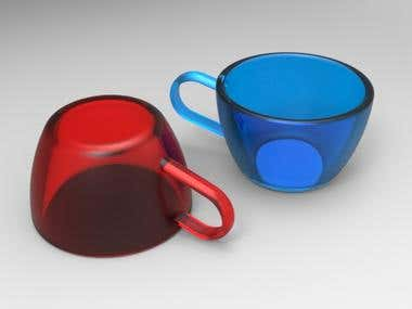 CUP FOR 3D PRINTING