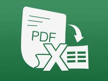 PDF---WORD/Excel Convert