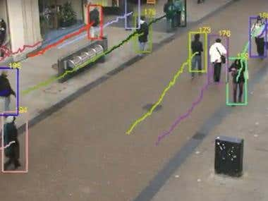 Vision based object tracking
