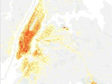 Location and time based data mining