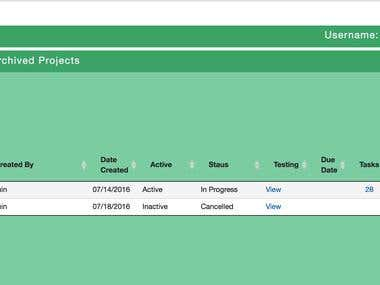 Project Management Tool - Online Project Tracker