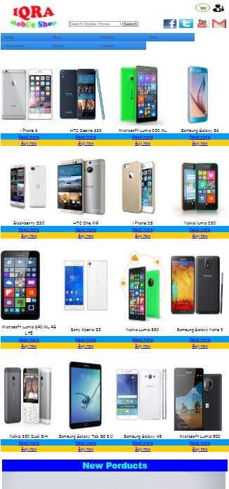 Mobile Shop Website