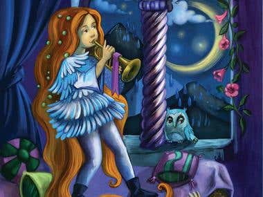 dreamlike illustration
