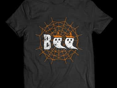 Boo Halloween Design