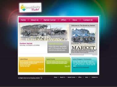 Broadway Market Website - www.hhmarket.co.uk