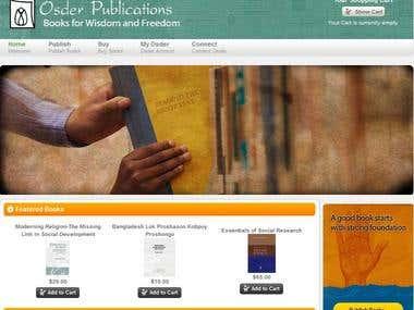 Books selling publishing website