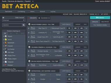 BetAzteca - Sports Betting