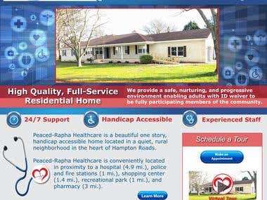 Healthcare Center Website