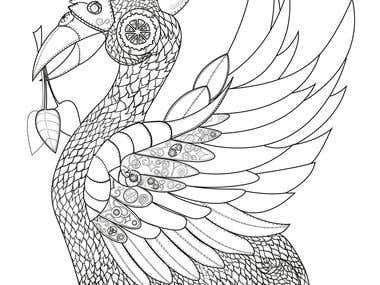 Mechanical Bird illustration