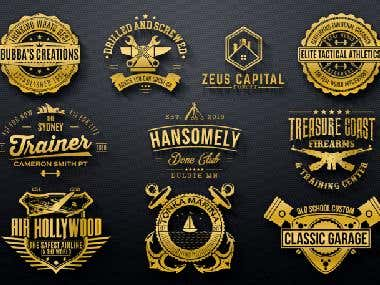 Stamp Logo Designs