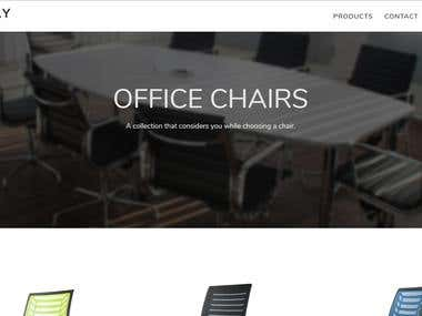 E-commerce Furniture Website