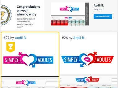 simply adult United Kingdom Logo Contest Winner!
