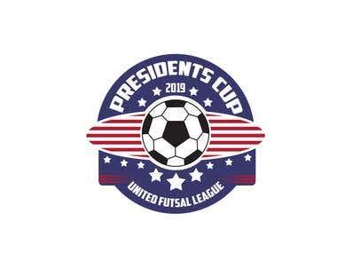 Presidents Cup - United Futsal League Logo