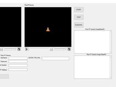 IP Camera Integration by using C#.NET