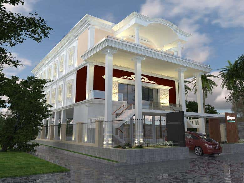 Exterior Rendering 3D Using Sketchup + Vray Render + Lumion