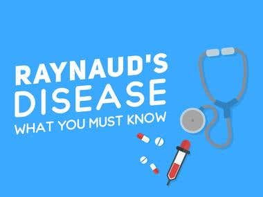 Raynaud's Disease Infographic
