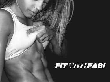 Fit With Fabi Logo Design