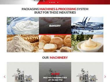 Packing Machine Website
