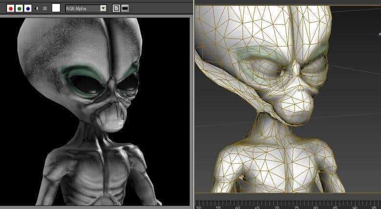 GOLEM Animation, Rigged 3D game model   Freelancer