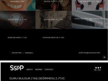 Joomla Website for SSPP Advertising Company