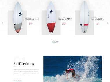 Surfers Theme