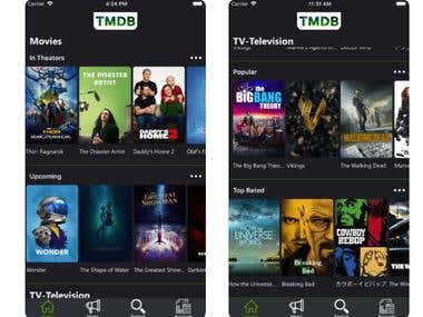 TMDB Movies and TV Shows