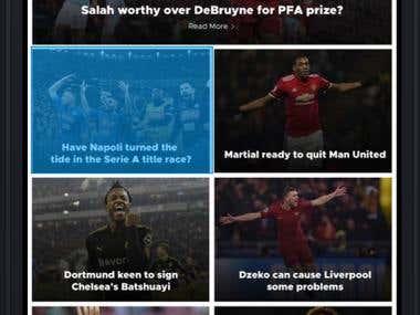 Sports News App