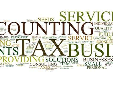 Online Tax and Accounting Service