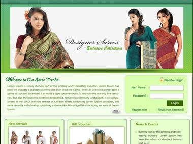 Saree Trend (Online Shopping Website)