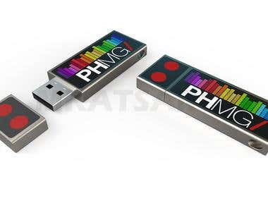 USB Stick design.