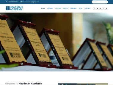 HeadmanAcademy.com
