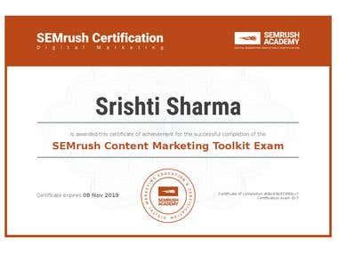 SEM Content Marketer