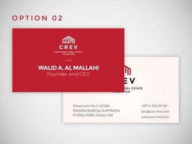 Crev Visiting Card
