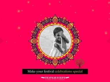 Diwali poster.