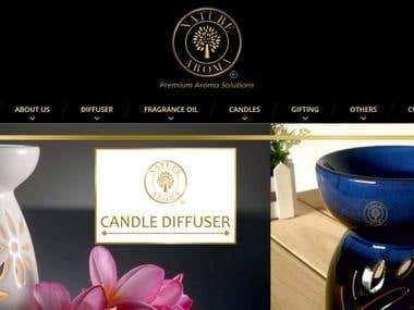 Website for Naturearoma.in