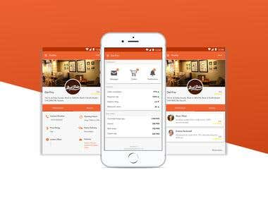 EatBazar Android app using JAVA