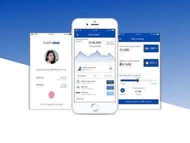 HubrisOne iOS app using SWIFT