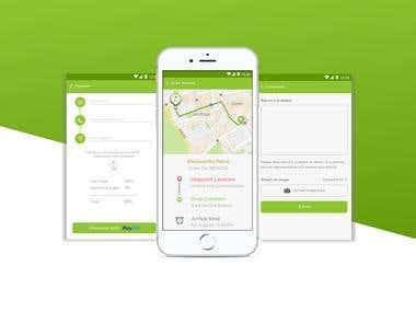 Milko Android & iOS app built using Flutter