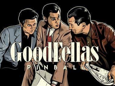 GoodFellas Pinball Machine