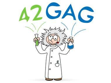 Logo for scientific but funny website