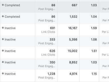 Facebook Marketing: Engagement Campaign