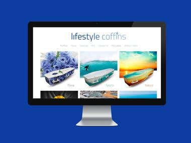 life style coffins website