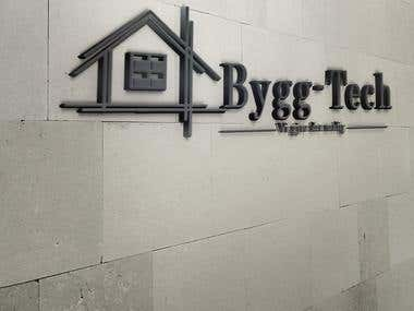 logo design company bygg-tech