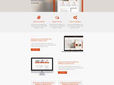 Responsive Email Template Develop