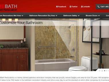 Bathroom Renovation Website
